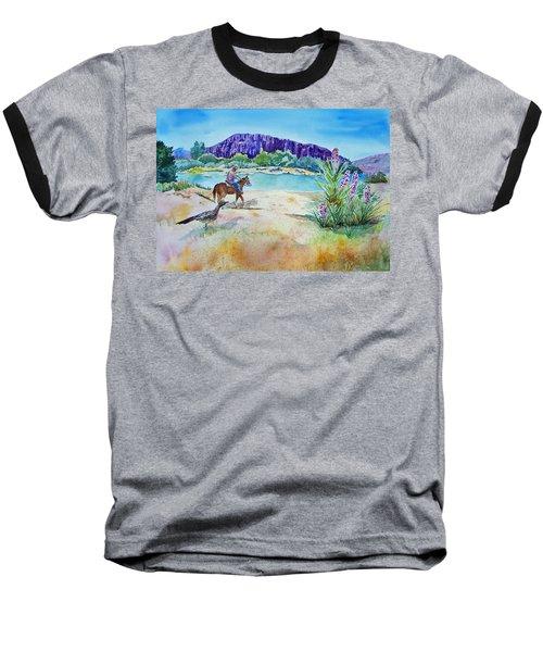 Texas - Along The Rio-grande Baseball T-Shirt