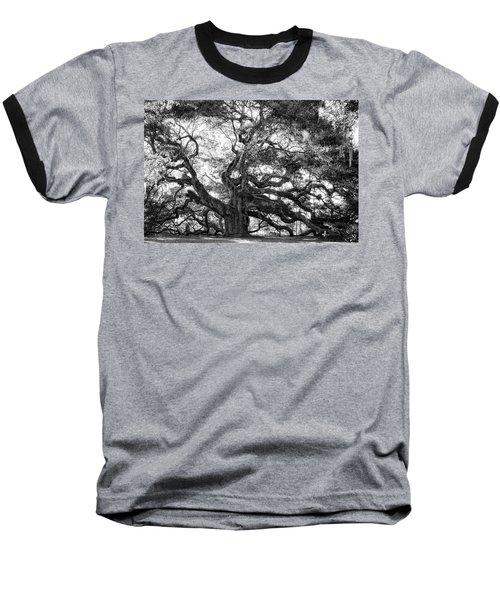 Baseball T-Shirt featuring the photograph Angel Oak by Lynne Jenkins