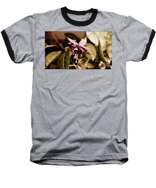 Baseball T-Shirt featuring the photograph Antiqued Fuchsia by Jeanette C Landstrom
