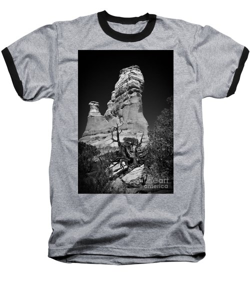 Arches National Park Bw Baseball T-Shirt