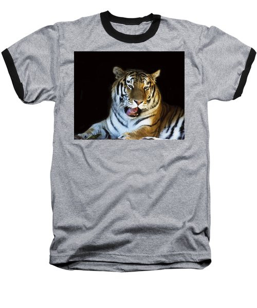 Awaking Tiger Baseball T-Shirt
