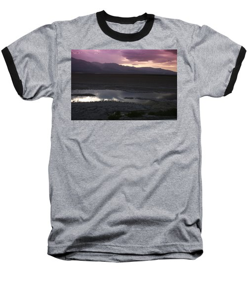 Badwater Basin Death Valley National Park Baseball T-Shirt