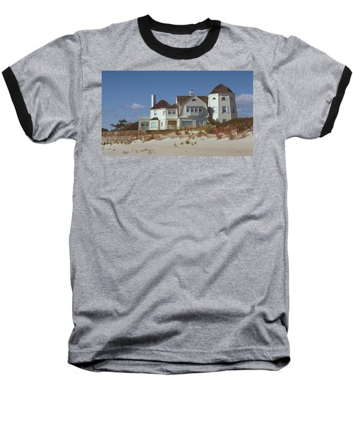 Beach House Baseball T-Shirt by Mark Greenberg