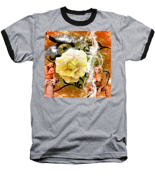 Baseball T-Shirt featuring the photograph Beauty by Clayton Bruster