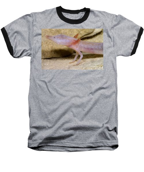Blind Salamander Baseball T-Shirt