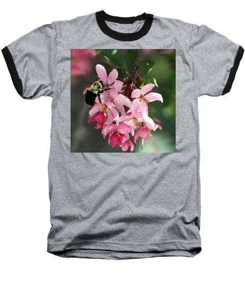 Baseball T-Shirt featuring the photograph Buzzing Beauty by Elizabeth Winter