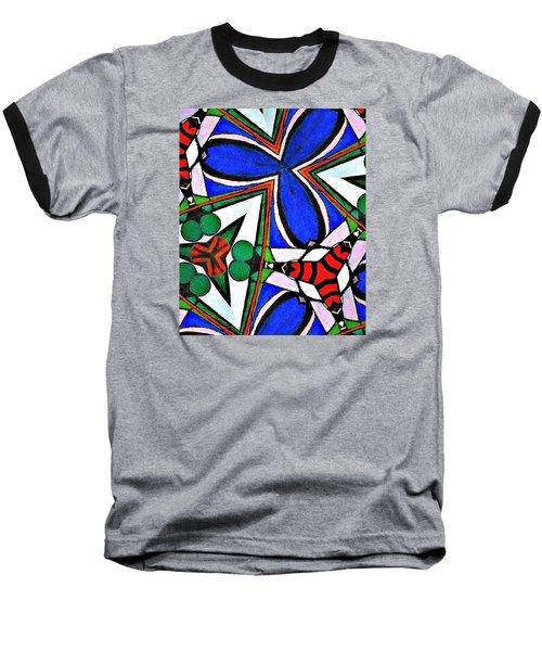 Calendoscopio Baseball T-Shirt by Sandra Lira