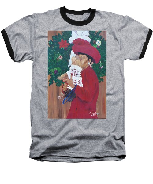 Christmas Lioness Baseball T-Shirt