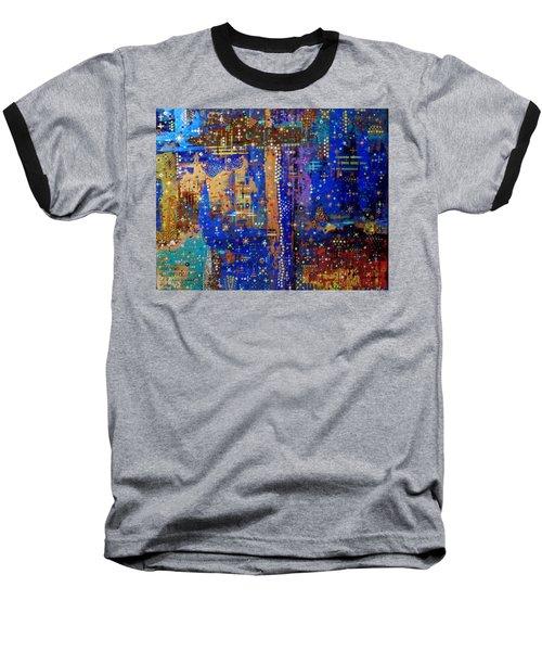 Design For Meditation Baseball T-Shirt