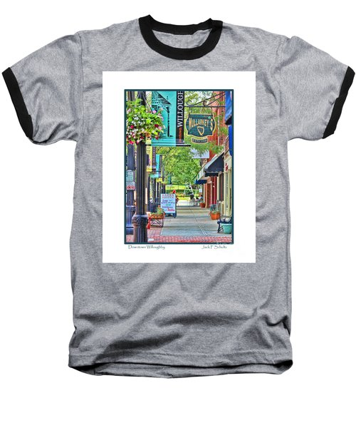Downtown Willoughby Baseball T-Shirt