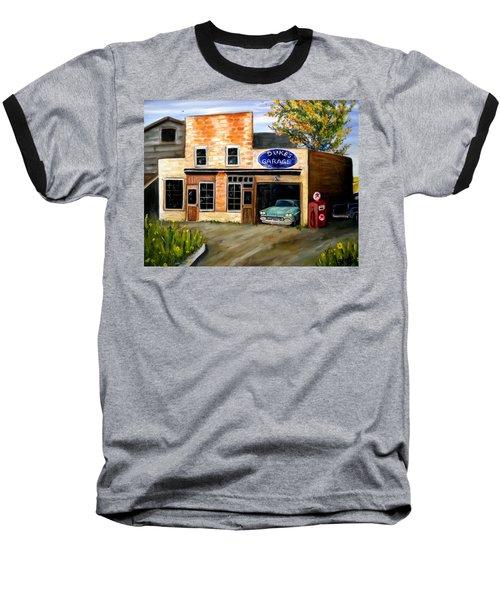 Duke's Garage Baseball T-Shirt