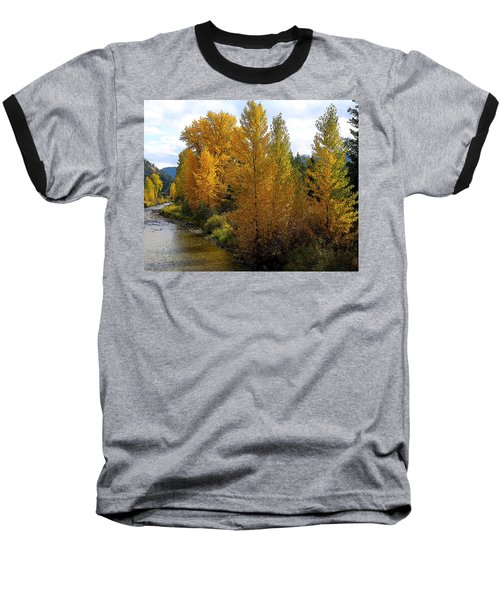 Baseball T-Shirt featuring the photograph Fall Colors by Steve McKinzie