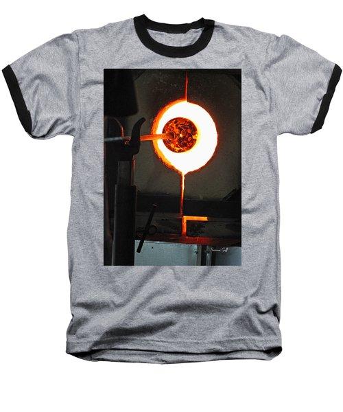 Glass Blowing V Baseball T-Shirt