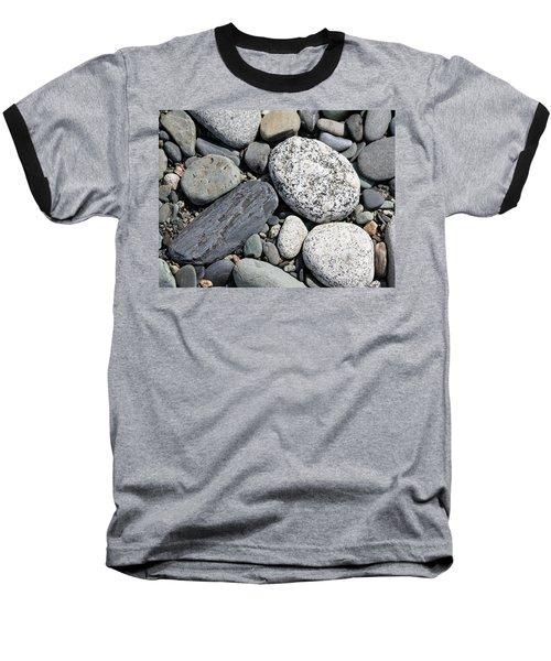 Healing Stones Baseball T-Shirt by Cathie Douglas