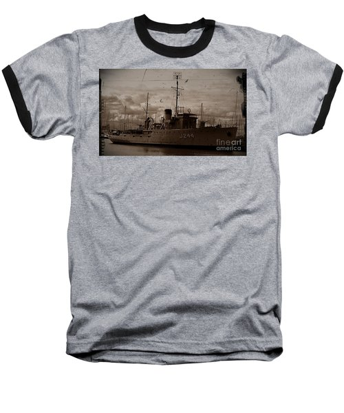 Baseball T-Shirt featuring the photograph Hmas Castlemaine 2 by Blair Stuart