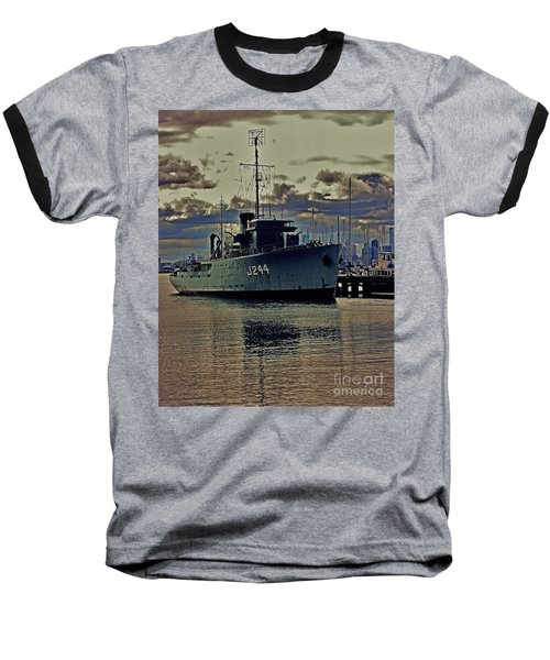 Baseball T-Shirt featuring the photograph Hmas Castlemaine 3 by Blair Stuart