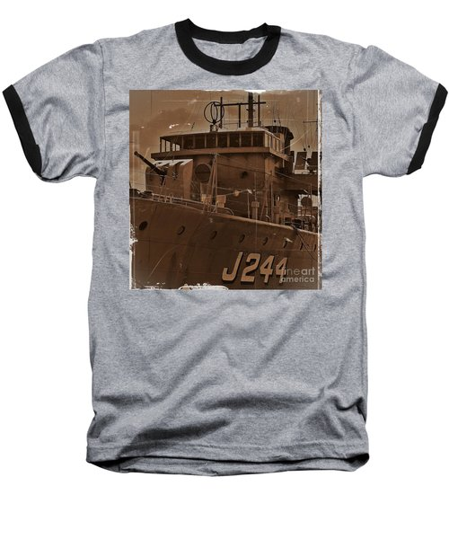 Baseball T-Shirt featuring the photograph Hmas Castlemaine 4 by Blair Stuart