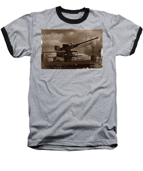 Baseball T-Shirt featuring the photograph Hmas Castlemaine 5 by Blair Stuart