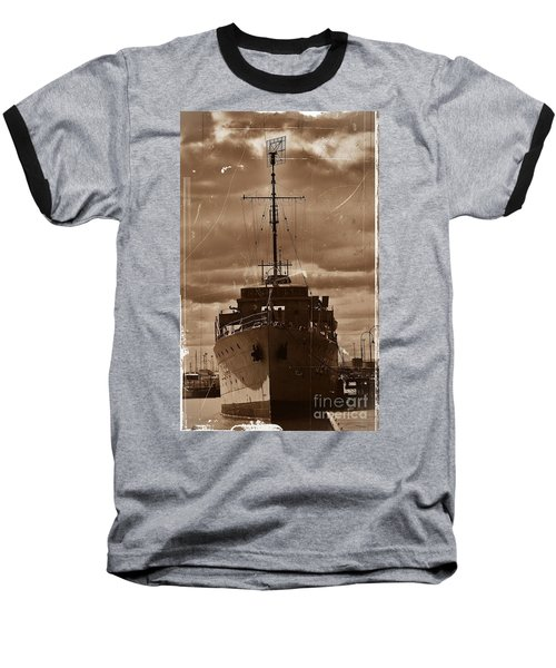 Baseball T-Shirt featuring the photograph Hmas Castlemaine by Blair Stuart