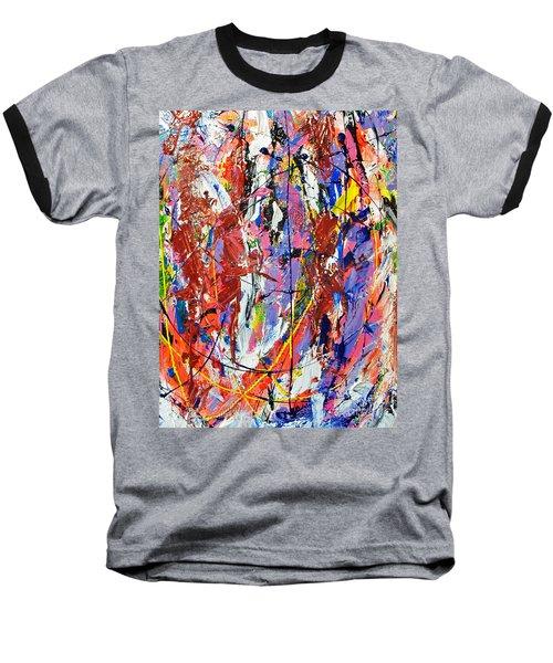 Jazz Baseball T-Shirt by Elf Evans