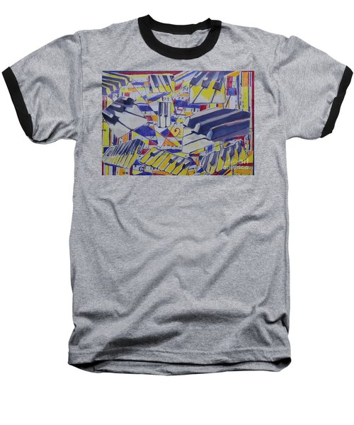 Jumping Jazz Baseball T-Shirt
