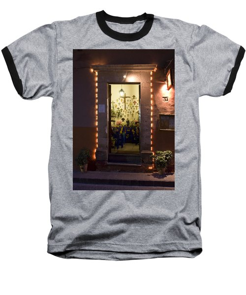 Baseball T-Shirt featuring the photograph Las Cruces by Lynn Palmer