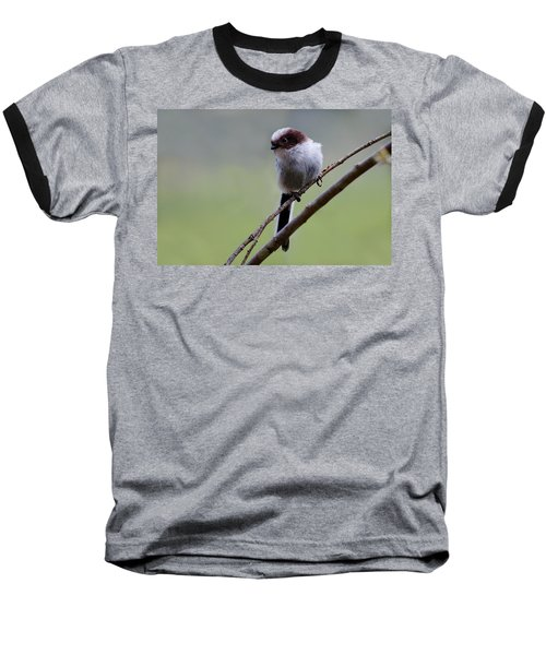 Long Tailed Tit Baseball T-Shirt