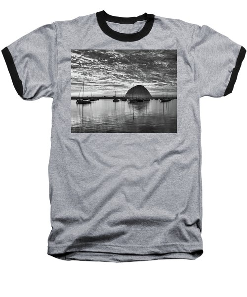 Morro Bay On Fire Baseball T-Shirt