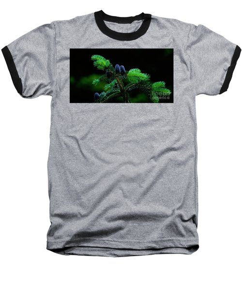 Baseball T-Shirt featuring the photograph Mountain Life by Sharon Elliott
