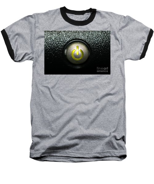 On Off Baseball T-Shirt