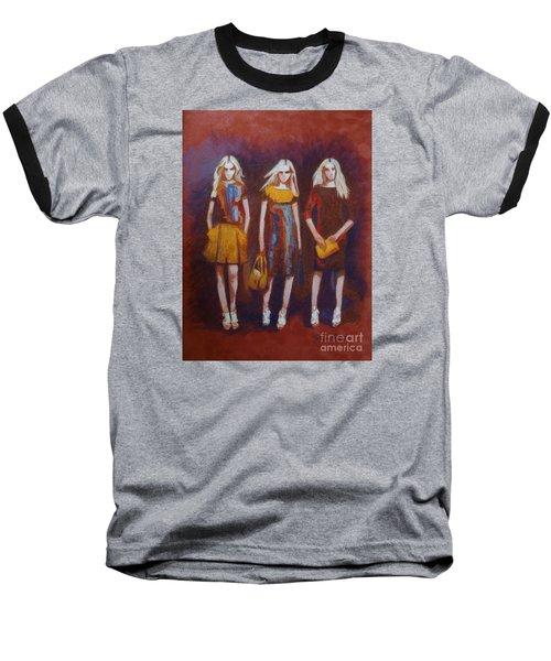 On The Catwalk Baseball T-Shirt