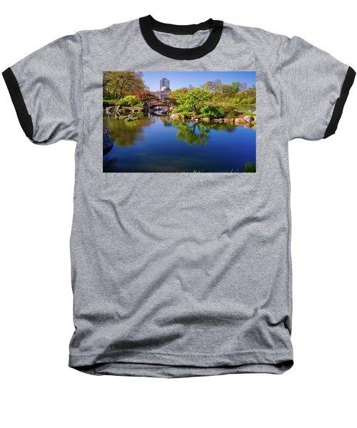 Osaka Japanese Garden Baseball T-Shirt