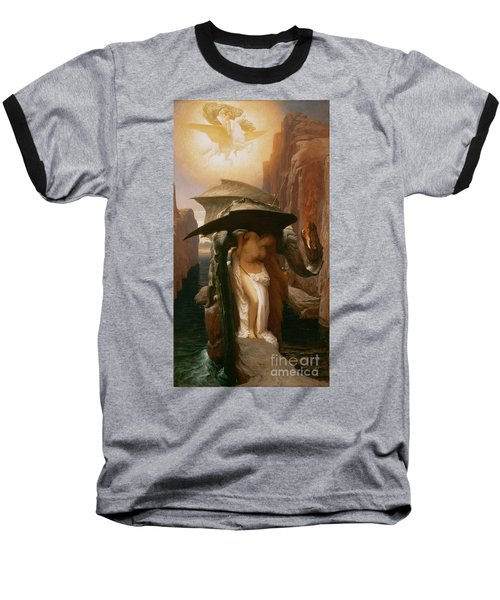 Perseus And Andromeda Baseball T-Shirt by Frederic Leighton