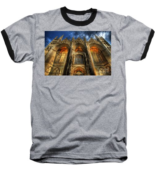 Peterborough Cathedral Baseball T-Shirt