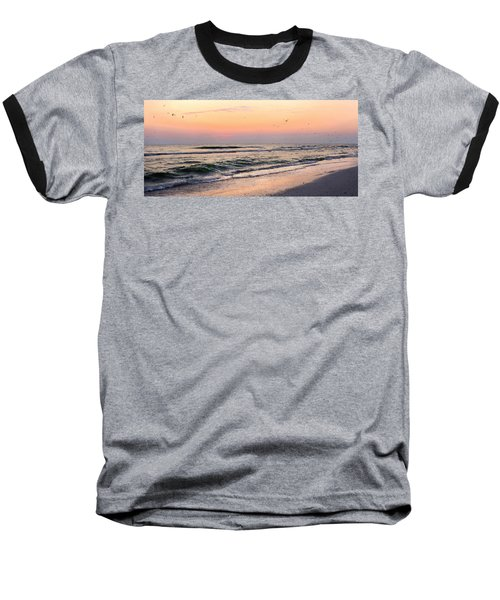 Postcard Baseball T-Shirt