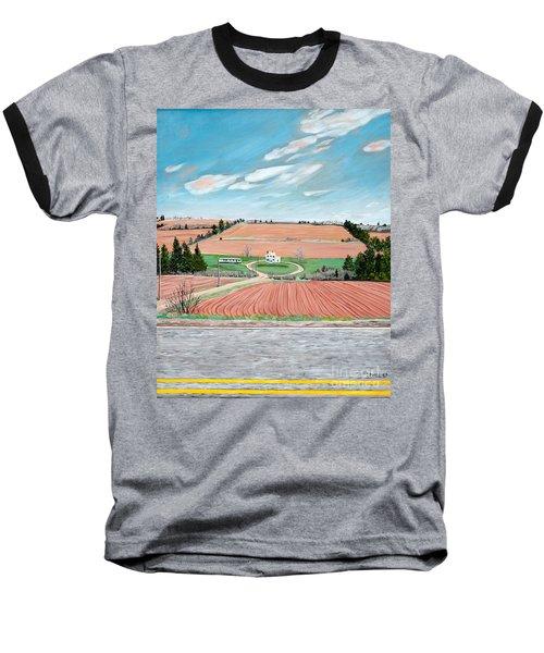 Red Soil On Prince Edward Island Baseball T-Shirt