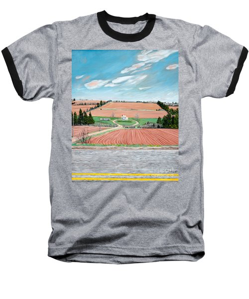 Red Soil On Prince Edward Island Baseball T-Shirt