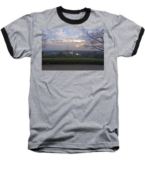 Baseball T-Shirt featuring the photograph Richmond Sunset by Maj Seda