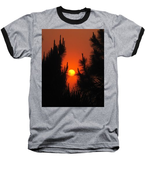 Rise And Pine Baseball T-Shirt