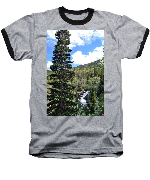 Rocky Mountain National Park2 Baseball T-Shirt by Zawhaus Photography