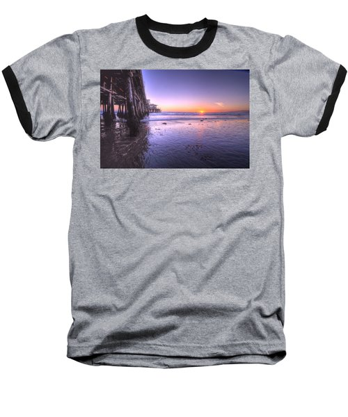 Serene Sunset Baseball T-Shirt