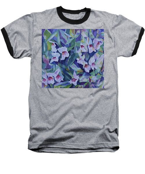 Snap Dragons Baseball T-Shirt by Jan Bennicoff