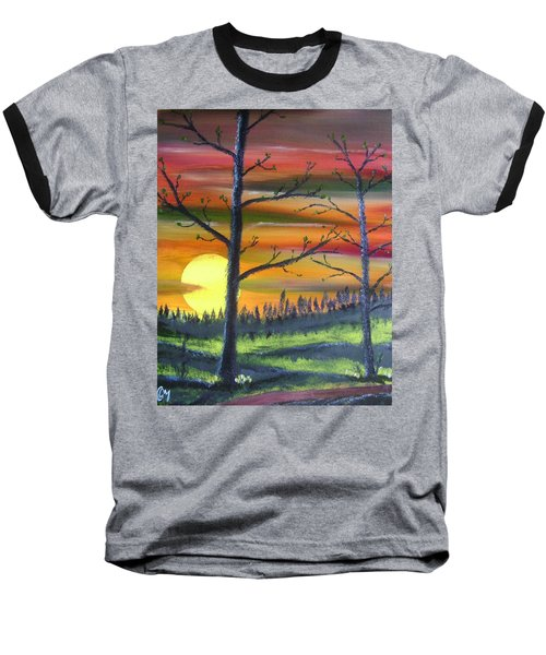 Spring Sunrise Baseball T-Shirt