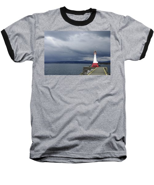 Baseball T-Shirt featuring the photograph Stormwatch by Marilyn Wilson