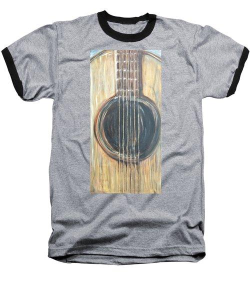 Strings Acoustic Sound Baseball T-Shirt