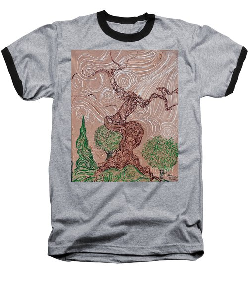 The Earthen Tree Baseball T-Shirt