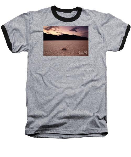 Baseball T-Shirt featuring the photograph The Racetrack by Keith Kapple