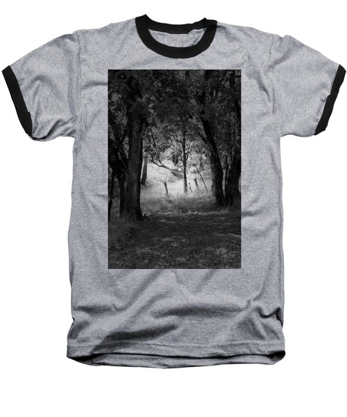 Through The Trees  Baseball T-Shirt