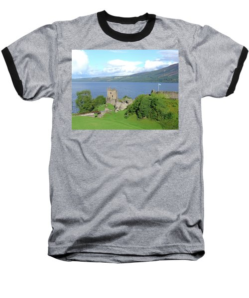 Urquhart Castle Baseball T-Shirt