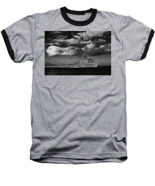 Uss Fort Mchenry Baseball T-Shirt